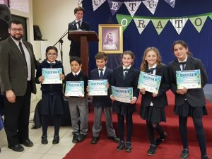 Poetry and Oratory contest